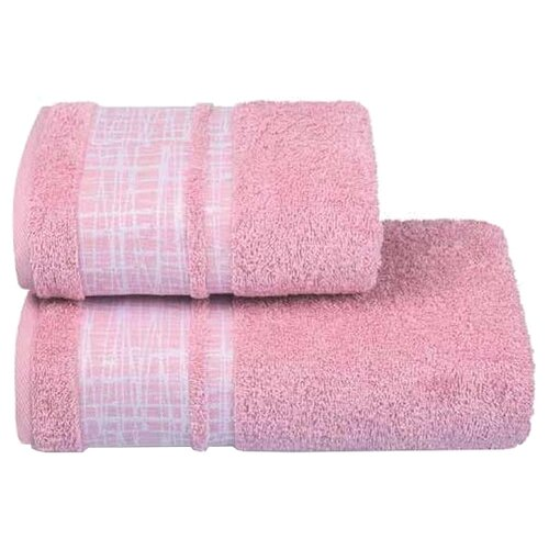 ДМ Полотенце Ragnatela банное 70х130 см розовыйПолотенца<br>