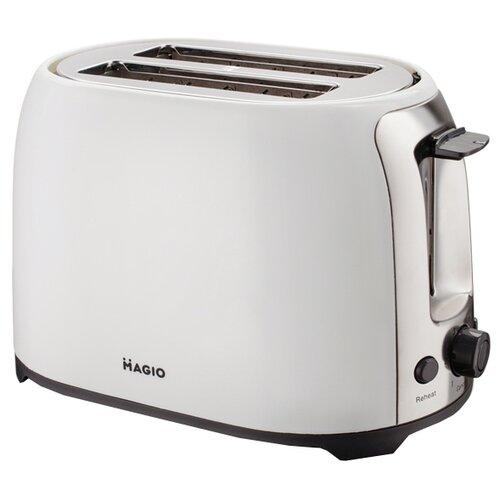 Тостер Magio МG-272W, белый