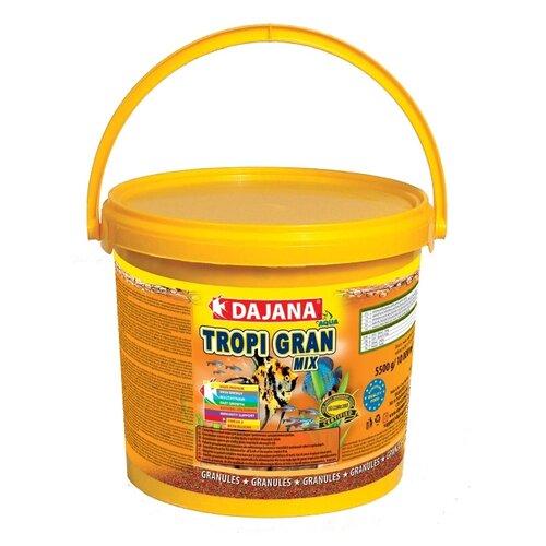 Сухой корм Dajana Pet Tropi Gran Mix для рыб 10000 мл 5500 г