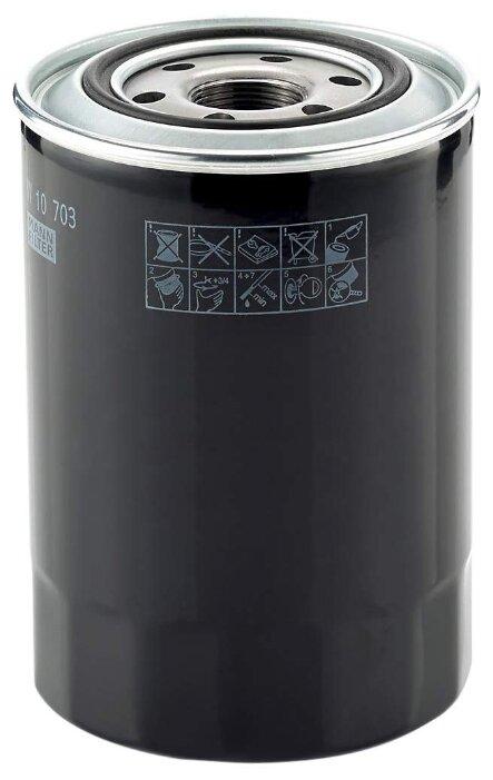 Масляный фильтр MANNFILTER W10703