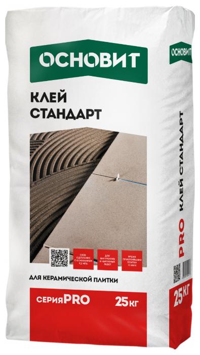 Клей Основит стандарт PRO 25 кг