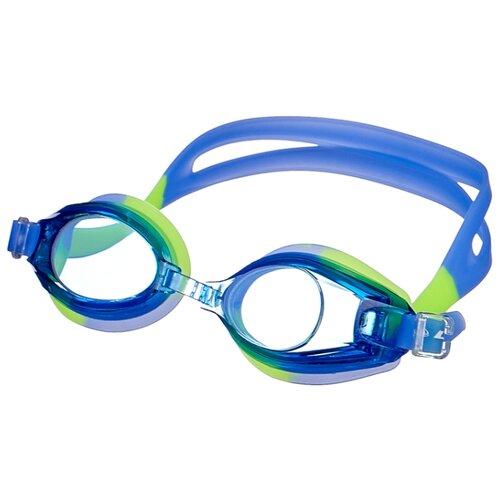 Очки для плавания Larsen DR-G103 синий/желтый