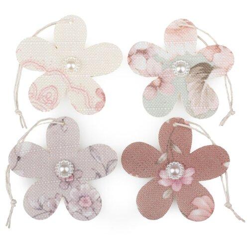 Купить Набор декоративных элементов Цветок 100% полиэстр 2403104, Efco, Украшения и декоративные элементы