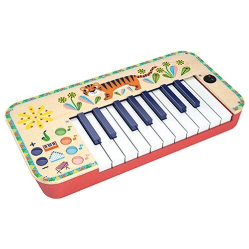 DJECO пианино Animambo 06023 бежевый/красный djeco маракас animambo