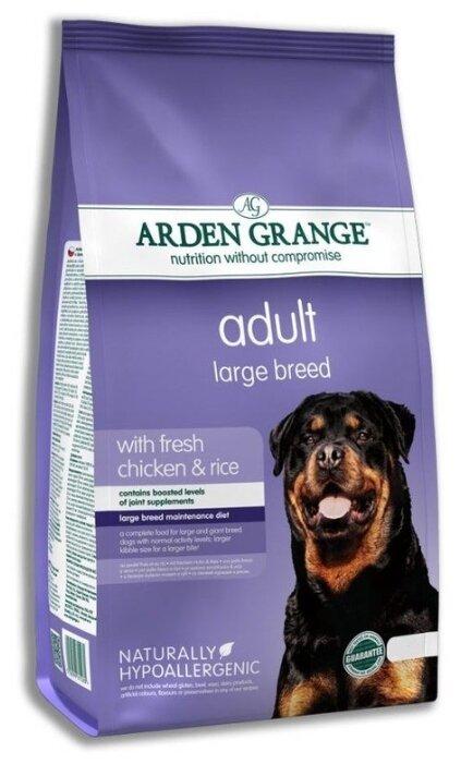 Корм для собак Arden Grange Adult Large Breed курица и рис сухой корм для взрослых собак крупных пород