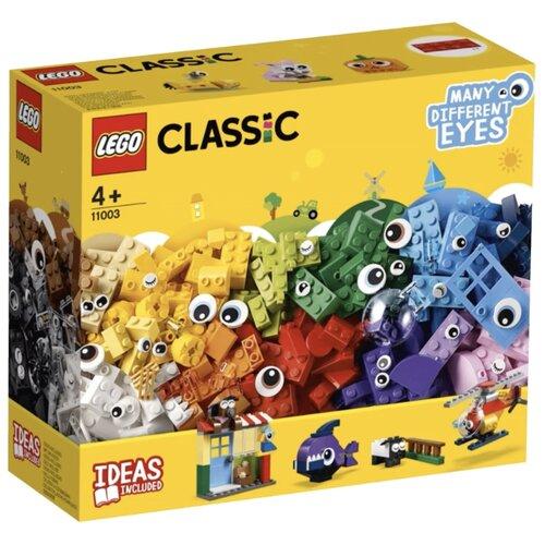 Купить Конструктор LEGO Classic 11003 Кубики и глазки, Конструкторы