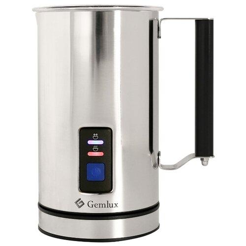 Вспениватель для молока Gemlux GL-MF-05 серебристый/черный