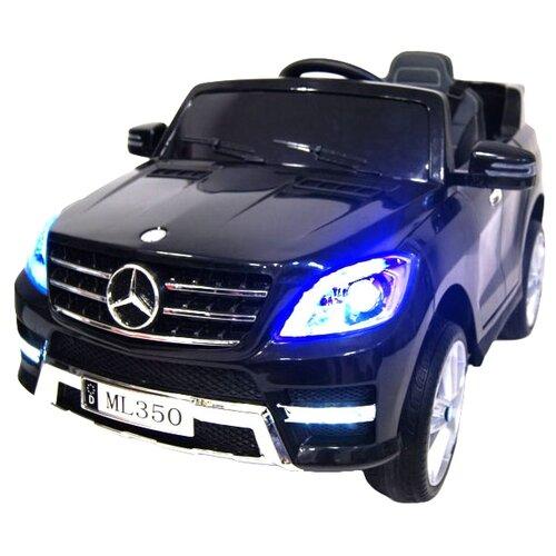 Купить RiverToys Автомобиль Mercedes-Benz ML350, черный глянец, Электромобили