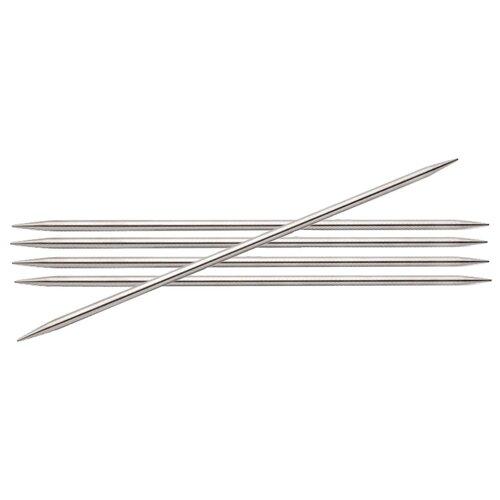 Купить Спицы Knit Pro Nova Metal 10117, диаметр 2.5 мм, длина 20 см, серебристый