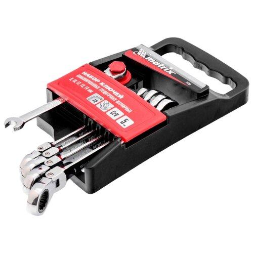 Набор гаечных ключей Matrix (5 предм.) 14794 серебристый matrix protopak 5 купить