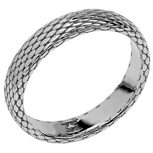 Эстет Кольцо коллекции Totem Snake/Змея из серебра 01О050326, размер 19 фото