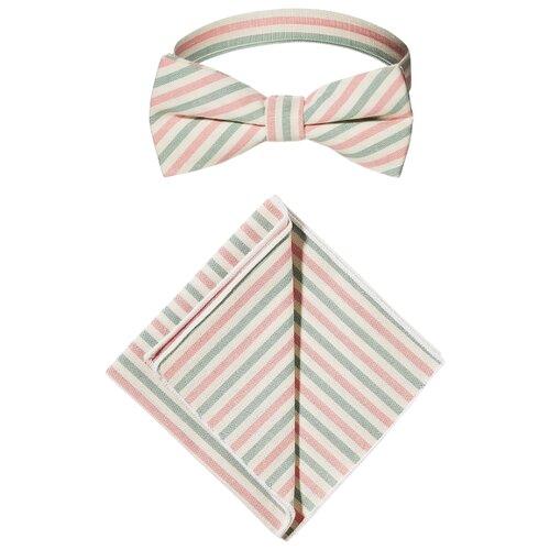 Комплект из 2 предметов Signature Одиннадцать друзей Оушена белый/светло-розовый/аквамариновый