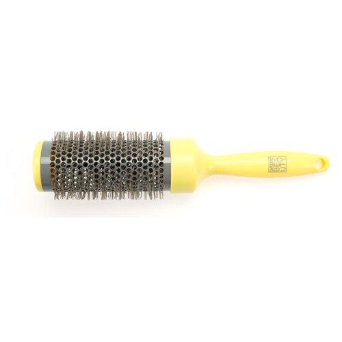 Купить Термобрашинг Dewal Beauty серия Лимонный пудинг с керамич. покрытием d 55/65мм DBLP55