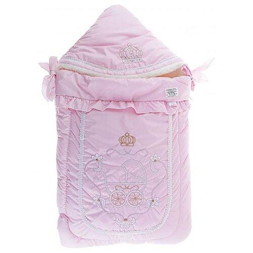 Фото - Конверт Золотой гусь меховой Бэби Элит (розовый) конверт на выписку золотой гусь венеция 6 предметов молочный