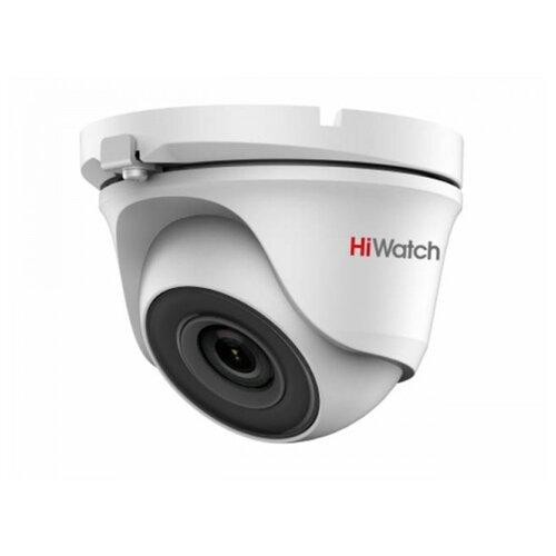 Фото - Камера видеонаблюдения HiWatch DS-T203(B) (2.8 мм) белый камера видеонаблюдения hiwatch ds t203 b 6 мм белый