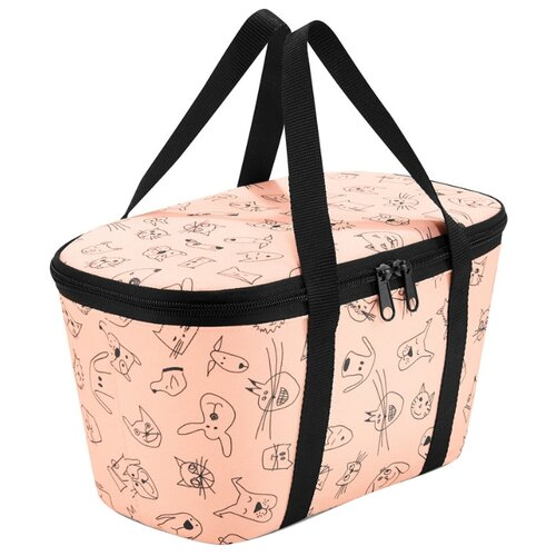 Reisenthel Термосумка Coolerbag XS kids cats and dogs rose 4 л