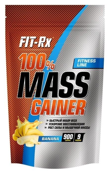 Гейнер FIT-Rx 100% Mass Gainer (900 г) ваниль
