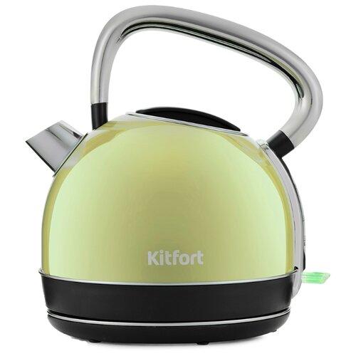 Чайник Kitfort KT-696-3, салатовый