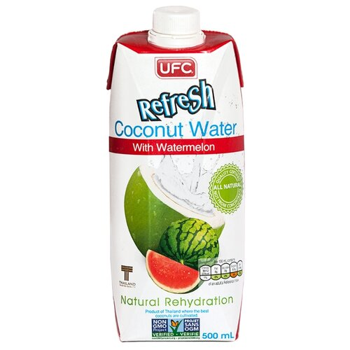Вода кокосовая UFC Refresh с арбузом, 0.5 л ufc fight night auckland