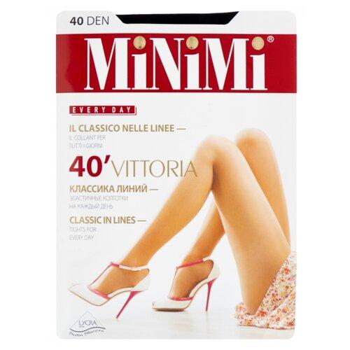 Колготки MiNiMi Vittoria 40 den, размер 3-M, nero (черный) колготки minimi vittoria 40 den размер 4 l nero черный
