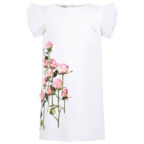 Платье Lesy размер 140, белый