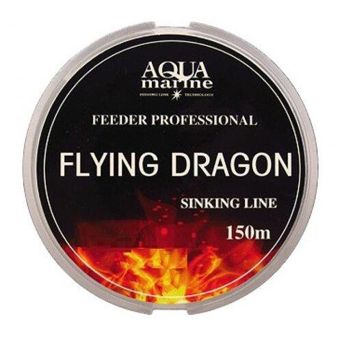 Монофильная леска AQUA MARINE FLYING DRAGON темно-зеленая 0.233 мм 150 м 4.81 кгЛеска и шнуры<br>