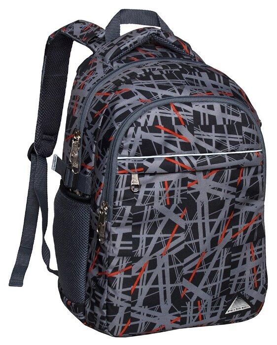 RISE Рюкзак м-340-со серый