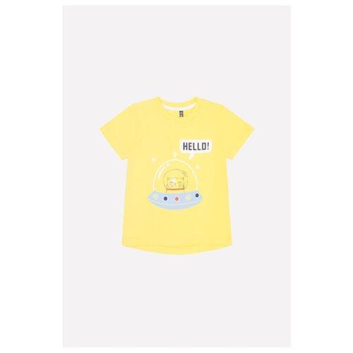 Футболка crockid размер 68, сочный лимон, Футболки и рубашки  - купить со скидкой