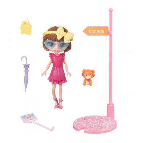 Купить Игровой набор Bondibon куколка OLY путешественница, 11.5 см, BB4315, Куклы и пупсы