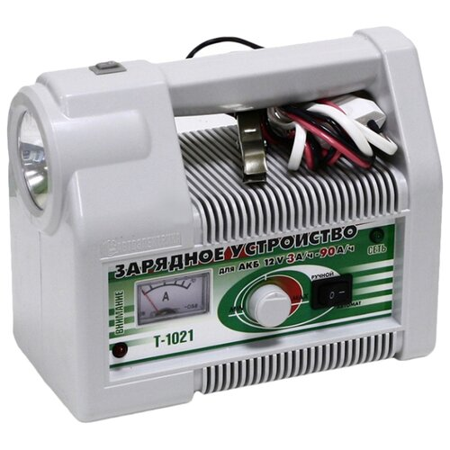 Зарядное устройство Автоэлектрика Т-1021 серый зарядное