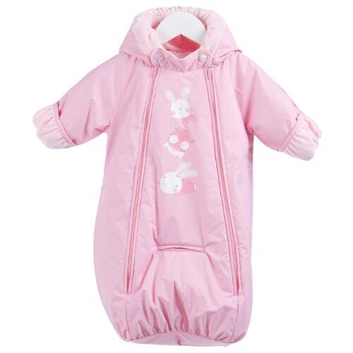 Купить Комбинезон-конверт KERRY BLISS K19000 размер 62, 176 розовый, Теплые комбинезоны