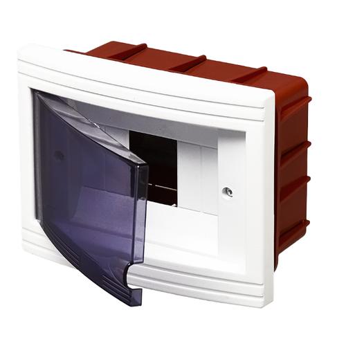 Щит распределительный RUCELF встраиваемый, модулей: 6 ЩРВ-П-6 белыйЩиты и шкафы<br>