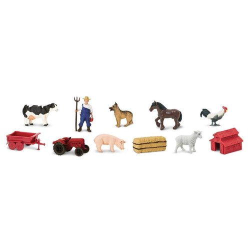 Купить Игровой набор Safari Ltd На ферме 682604, Игровые наборы и фигурки
