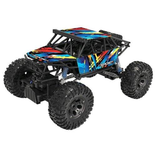 Купить Внедорожник Пламенный мотор Краулер-Амфибия (870425) 36 см мультиколор, Радиоуправляемые игрушки