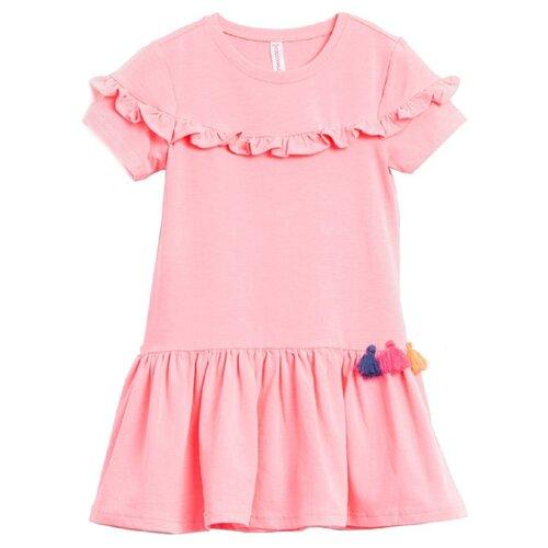 Купить Платье COCCODRILLO размер 110, розовый, Платья и сарафаны