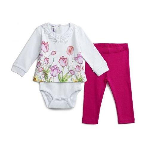 Комплект одежды playToday размер 68, белый/розовыйКомплекты<br>