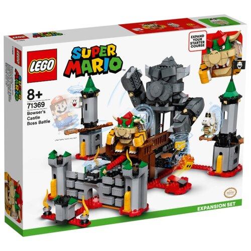 Купить Конструктор LEGO Super Mario 71369 Дополнительный набор Решающая битва в замке Боузера, Конструкторы