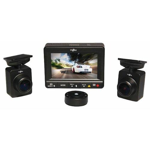 Видеорегистратор GAZER F225, 2 камеры, черный