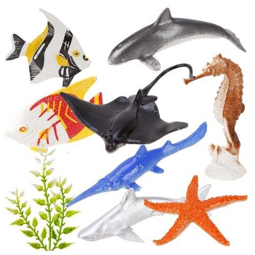 Купить Набор фигурок Наша Игрушка Морской мир, 8 шт, пакет (332-B7), Наша игрушка, Игровые наборы и фигурки