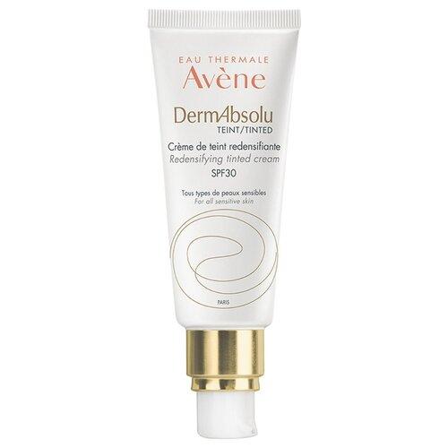 Фото - AVENE DermAbsolu Tinted Cream SPF 30 Крем для упругости кожи лица с тонирующим эффектом, 40 мл avene крем hydrance uv20 spf 30 насыщенный риш 40 мл