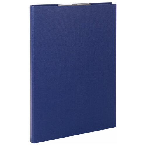 STAFF Папка-планшет Everyday А4, с прижимом и крышкой, картон/бумвинил синий папка на 2 х кольцах galaxy а4 салатовая