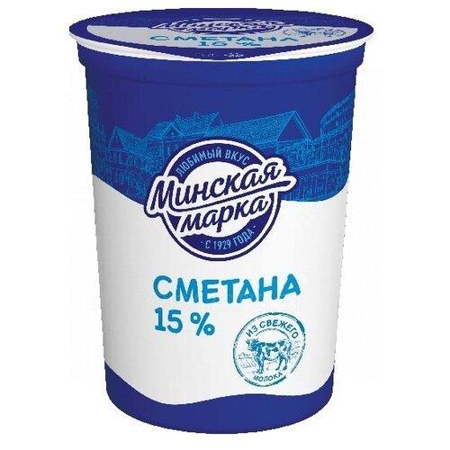 Минская Марка Сметана 15%