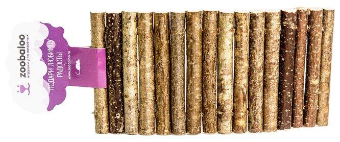 Игрушка для грызунов Zoobaloo Мостик дерево большой 30х15см