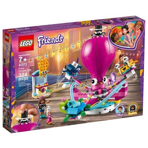 конструктор lego история игрушек 4 весёлый отпуск 10769 Конструктор LEGO Friends 41373 Аттракцион «Весёлый осьминог»