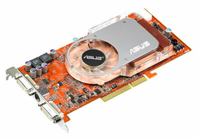 Видеокарта ASUS Radeon X800 XL 400Mhz AGP 256Mb 980Mhz 256 bit 2xDVI VIVO YPrPb