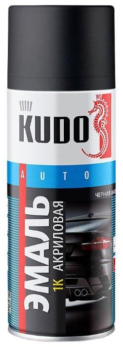Эмаль KUDO 1K автомобильная ремонтная матовая