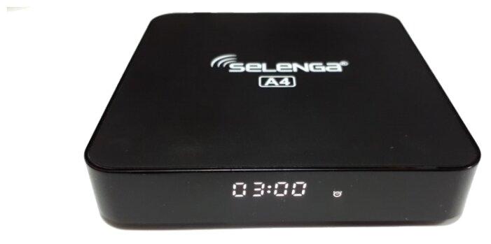 Медиаплеер Selenga A4 2Gb/16Gb Android TV Box