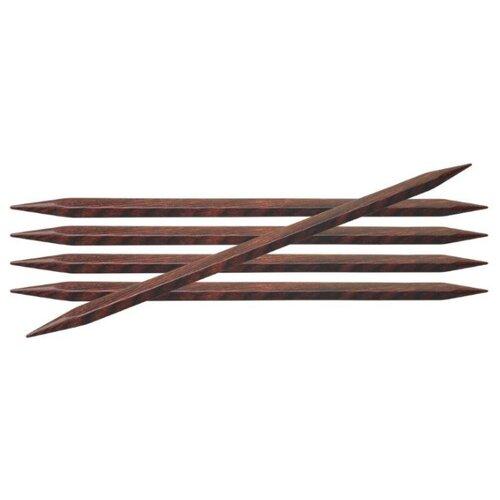 Купить Спицы Knit Pro Cubics 25117, диаметр 6.5 мм, длина 20 см, коричневый