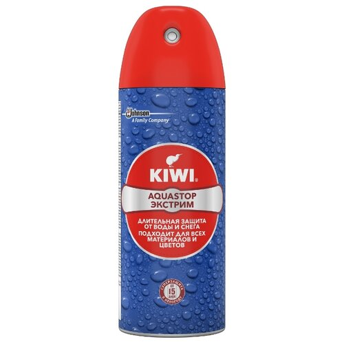 Kiwi Средство по уходу за изделиями из кожи, замши, нубука и текстиля Aquastop Экстрим