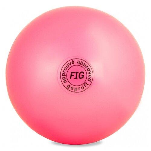 Фото - Мяч для художественной гимнастики Larsen AB2803 розовый мяч larsen duplex 5 301716